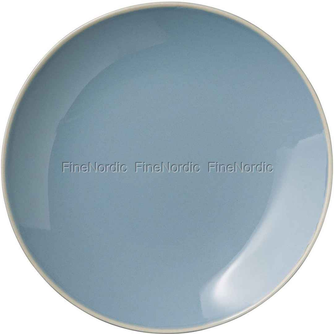 Siste Bloomingville Olivia Tallerken - Winter Blue 20 cm SS-41