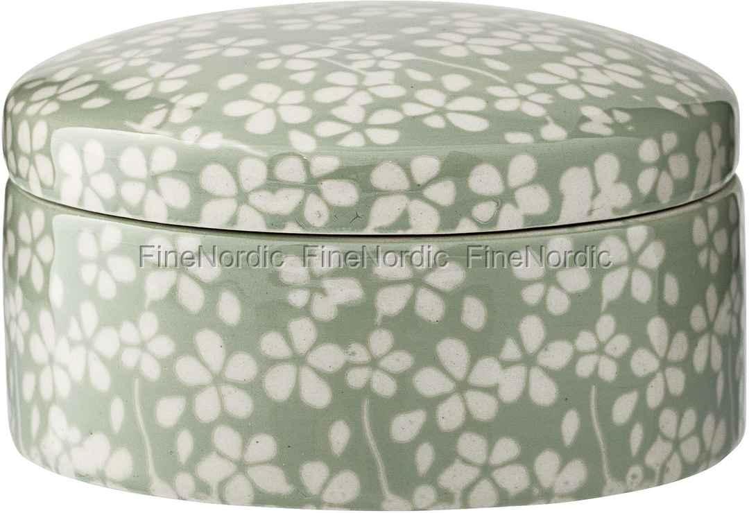 d2a09a5dbbf Bloomingville Krukke Seeke med Låg - Succulent H 5 cm
