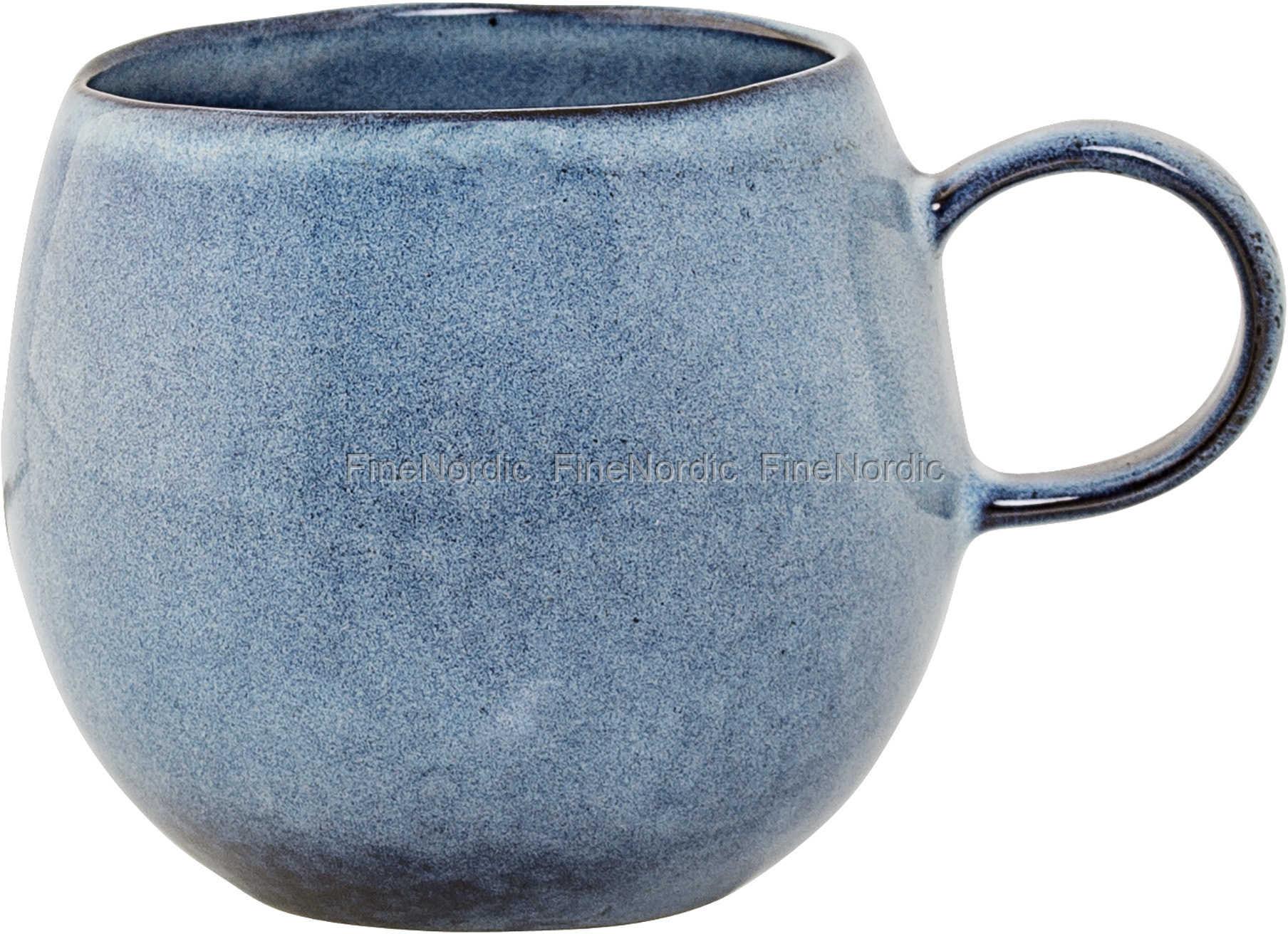 krus keramik Bloomingville Sandrine Keramik Krus Blå krus keramik