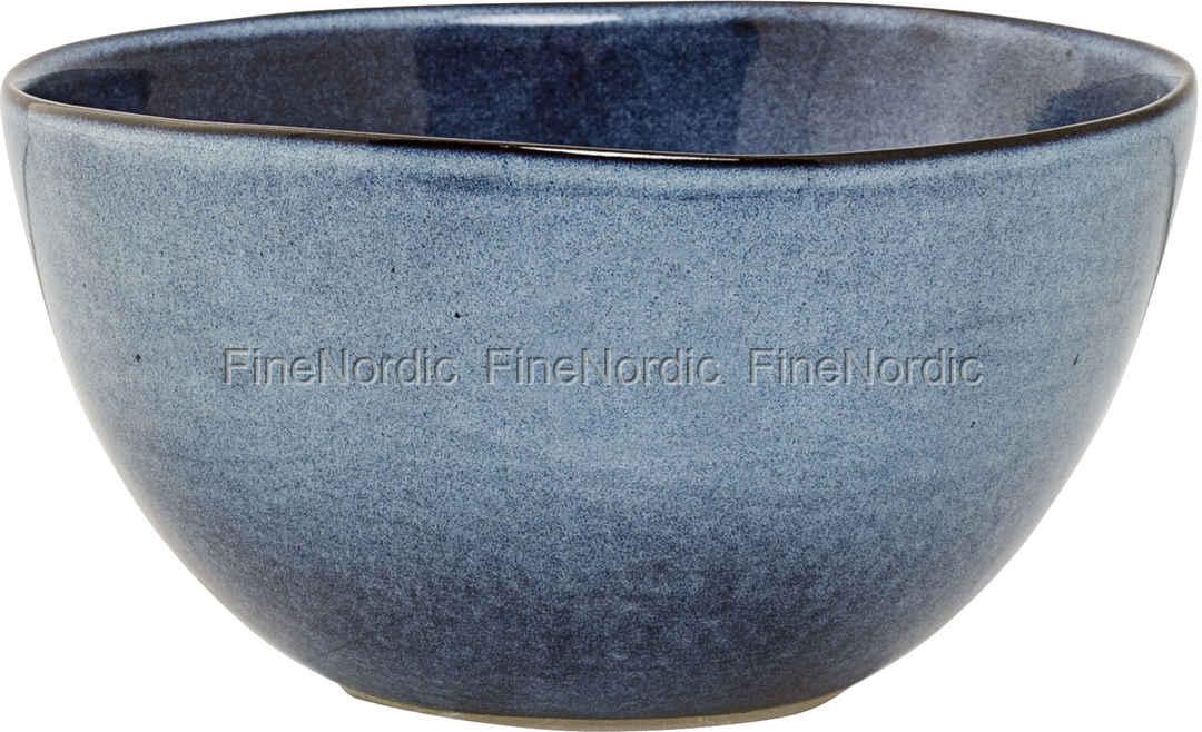 a2d14d1c75d Bloomingville Sandrine Keramik Skål Blå Ø 15 cm