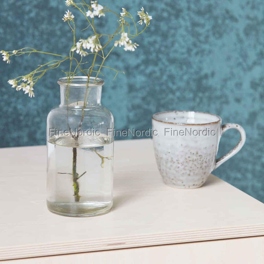 house doctor vase jar h 16 5 cm. Black Bedroom Furniture Sets. Home Design Ideas