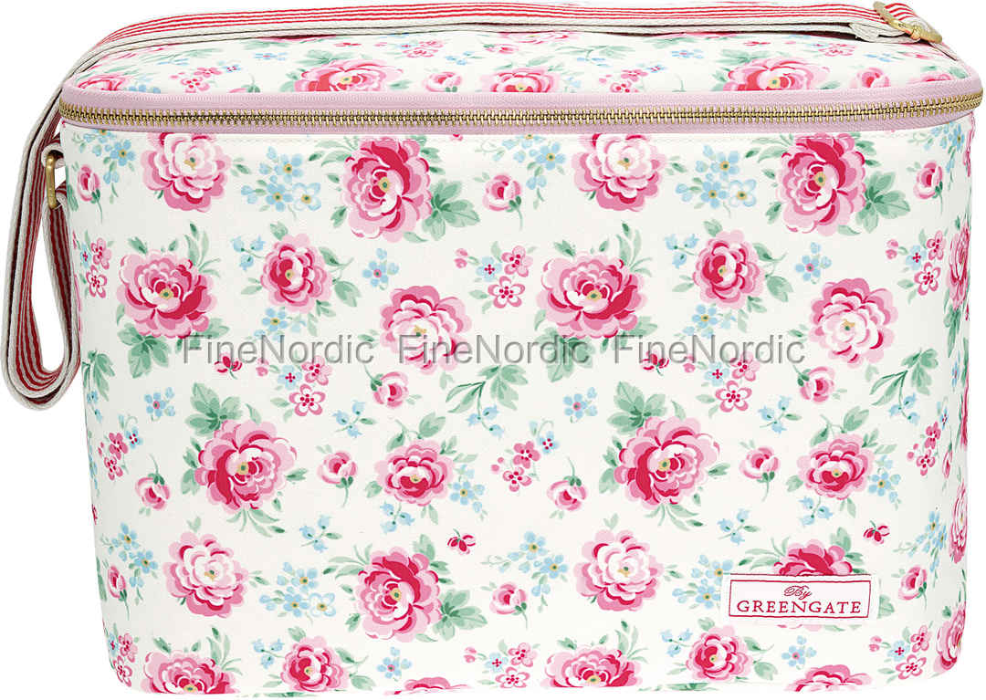 GreenGate Køletaske - Cooler Bag One Handle Meryl White