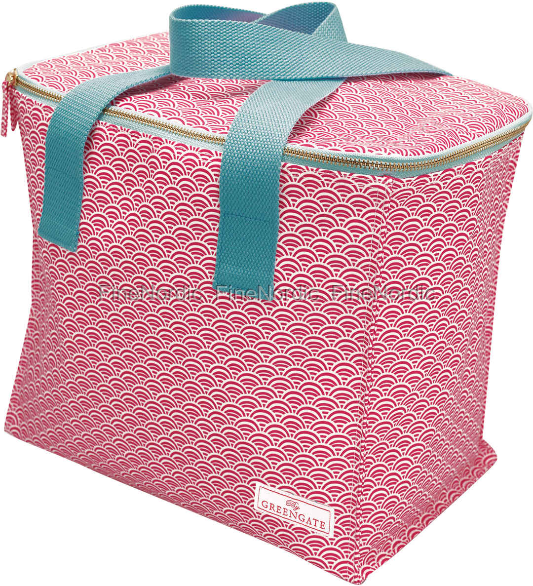 GreenGate Køletaske - Cooler Bag Two Handles Nancy Red
