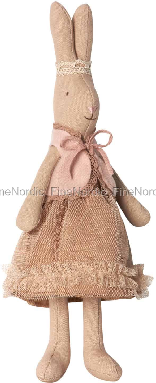 1090825002d Maileg Kanin - Mini Rabbit Prinsesse Filippa